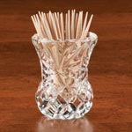 Table Top & Entertaining - Glass Toothpick Holder