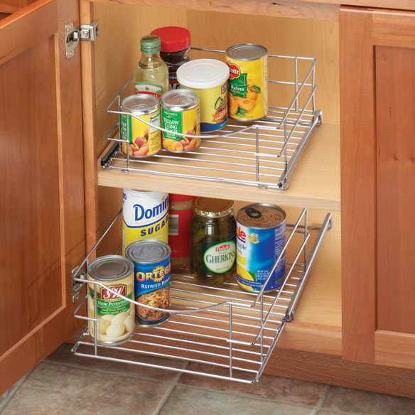 Roll Out Cabinet Organizer