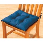 Tufted Chair Pad with Ties