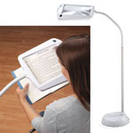 Eye, Ear & Throat - Lighted Full Page Magnifier Lamp