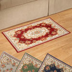 Decorations & Accents - Chenille Rose Tapestry Rug
