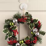 Decorations & Storage - Magnetic Wreath Hanger