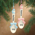 Personalized Baby Spoon Ornament