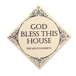 Home - Bless This Home Inspirational Tile