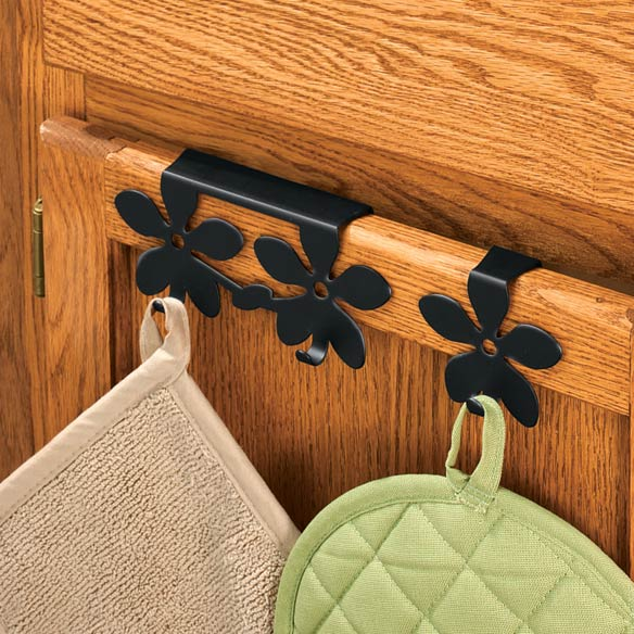 Flower Over The Cabinet Hook