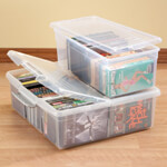 Storage & Organizers - Stacking Media Storage Boxes