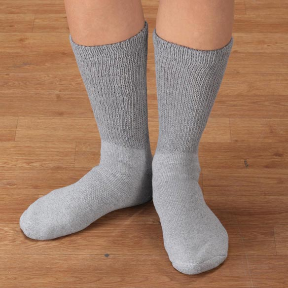Diabetic Calf Socks - View 1
