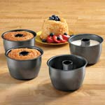 Bakeware & Cookware - Mini Angel Food Cake Pans, Set of 4
