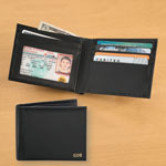 Personalized Leather RFID Wallet