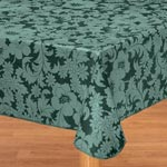 Table Covers - Bordeaux Floral Vinyl Table Cover
