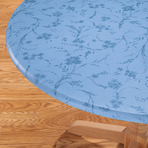 Floral Swirl Elasticized Table Cover