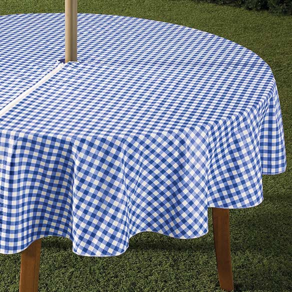 Zippered Table Cloth Umbrella Table Cloth Outdoor