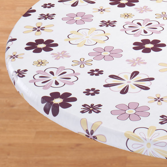 Lavender Blossoms Elasticized Table Cover