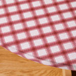 Table Covers - Plaid Elasticized Vinyl Table Cover