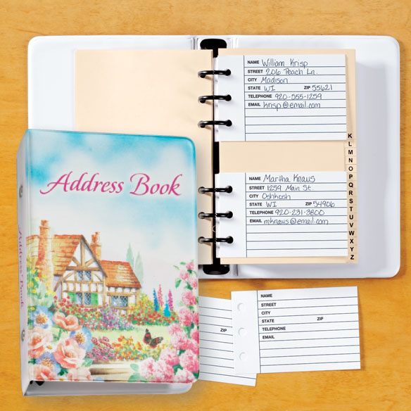 Cottage Address Book - View 1