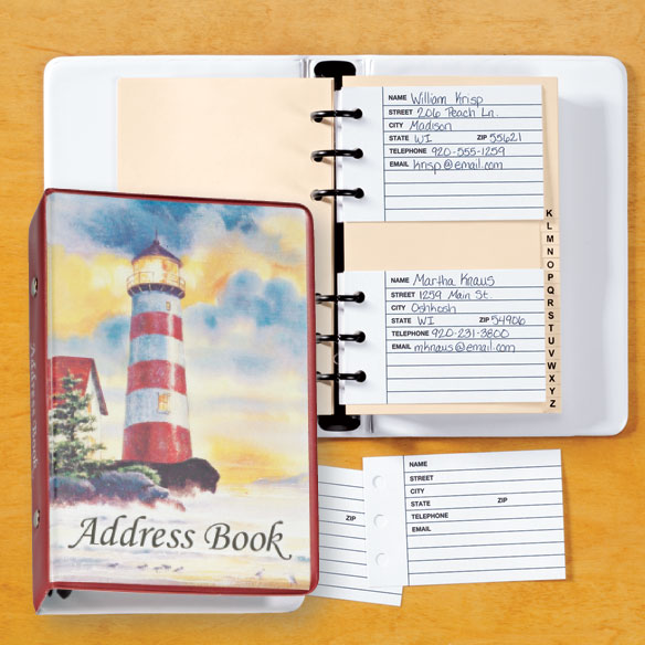 Lighthouse Address Book
