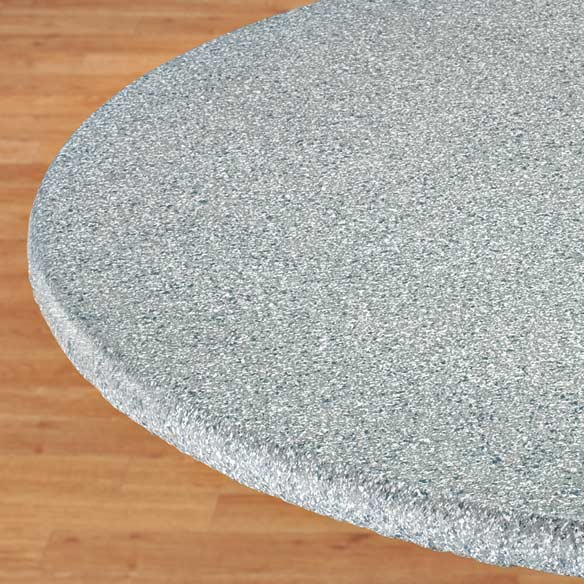 Polished Granite Elasticized Table Cover