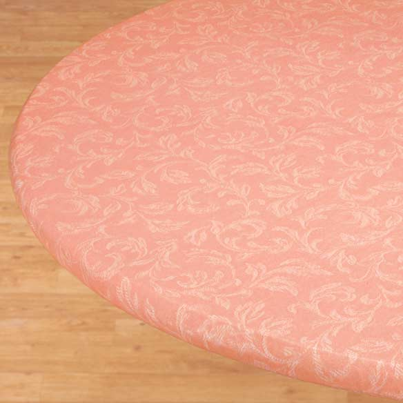 Villa Elastic Round Tablecloth