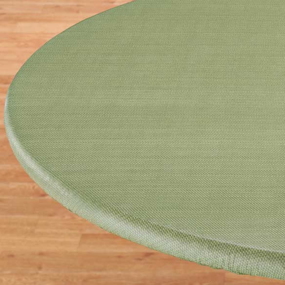 Classic Weave Elasticized Table Cover
