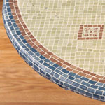 Table Top & Entertaining - Fiorenza Mosaic Elasticized Table Cover