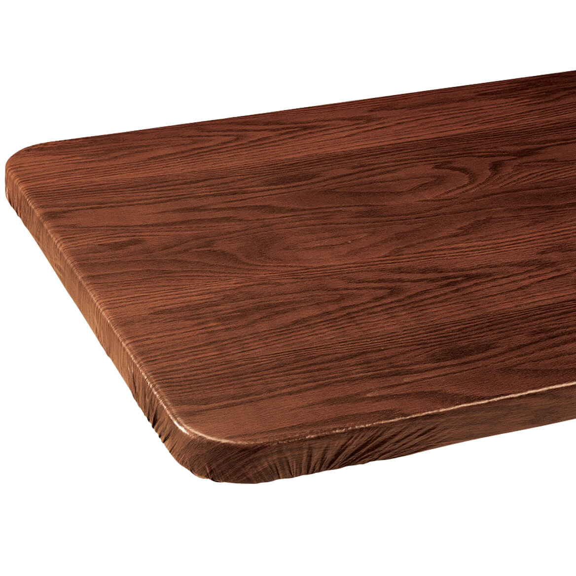 Wood Grain Elasticized Tablecover-344629