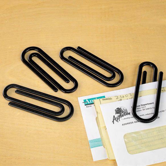 Jumbo Paperclips - Set Of 10