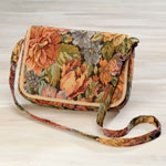 Handbags & Wallets - Floral Tapestry Handbag