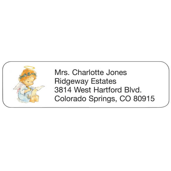 Angel Personalized Address Labels