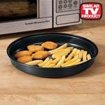 Microwave Crisper Pan, Black