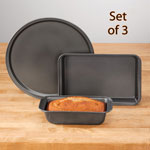 Non-Stick Baking Pans Set of 3