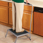 Daily Living Aids & Cushions - Extra Wide Folding Step Stool with Handle                 XL