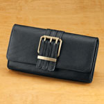Handbags & Wallets - Black Clutch Wallet