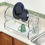 Cleaning & Repair - Two-Tier Compact Dish Rack