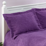 The Jane Chenille Sham by East Wing Comforts, King, Gray