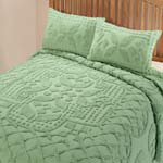 White Sale - The Jacqueline Chenille Bedding by East Wing Comforts