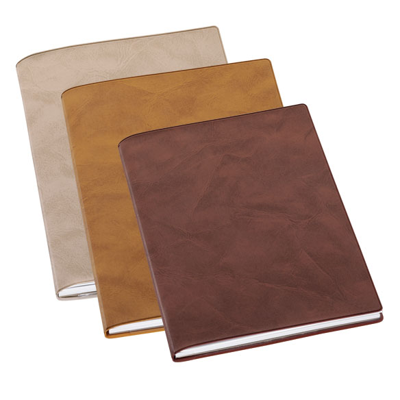 Faux Suede Journal Notebook