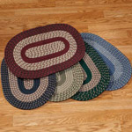 New - Oval Braided Rug