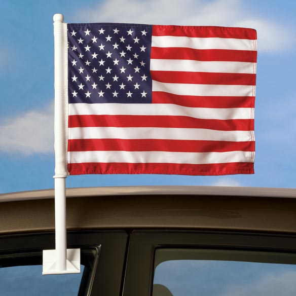 American Flag For Car