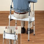 Mobility, Braces & Footcare - Walker Rest Seat