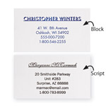 Memos, Notepads & Cards - Personalized Business Cards, Set of 200