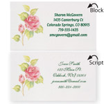 Memos, Notepads & Cards - Personalized Rose Business Cards, Set of 200