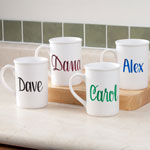 Personalized 14 oz. Latte Mug