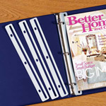 Home Office - Binder Magazine Holders