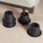 Storage & Organizers - Black Bed Risers Set of 4