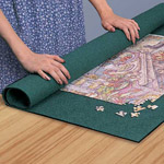 Jigsaw Roll Up, Large, Green