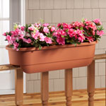 Lawn & Garden - Deck Railing Planter Large Rectangle