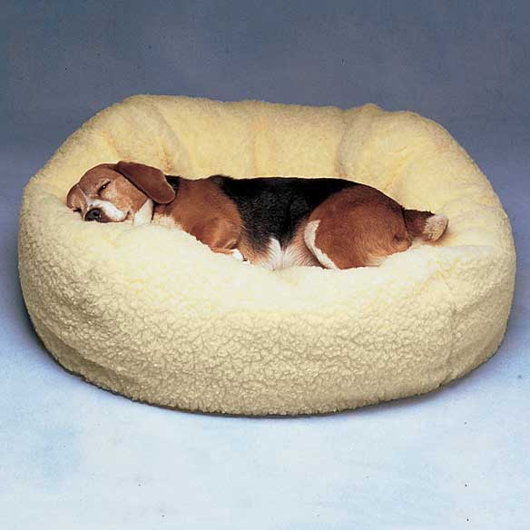 Fleece Ball Pet Bed