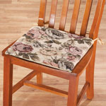 Kitchen - Reversible Tapestry Chair Pads, Set of 2