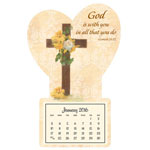 Calendars - Cross Mini Magnetic Calender