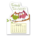 Calendars - Mini Magnetic Calendar Owls